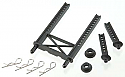 Traxxas 1/16th Rally Front/Rear Body Mounts & Posts