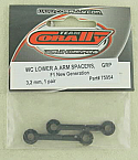 Team CoRally NGX GRP F1 WC Lower A-Arm Spacers