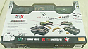 1/72nd Scale German Tiger I/SovietT34/85 VS Radio Controlled Tank Battle Set VSKA03102354