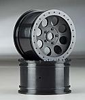 HPI Racing Mag-8 Wheel Black 83x56mm 17mm  (Savage/Hellfire)