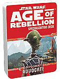 Star Wars RPG: Age of Rebellion Advocate Specialization Deck  FFGUSWA33