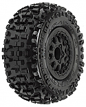 Pro-Line Racing 1/10th Mounted Badlands SC 2.2/3.0 M2 Tires (2)  PRO118213