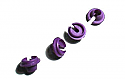 RPM Purple Lower Shock Spring Cups for Associated Shocks