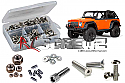 Axial SCX10 Dingo Stainless Steel Screw Set by RC Screwz  RCZAXI010