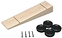 Pine-Pro Wedge Kit w/Wheels & Axles  PPR10047