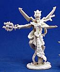 Dark Heaven Bones Neb'Nesew Pharoah Lich Unpainted Miniature by Reaper  RPR77147