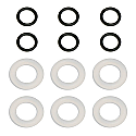 Associated RC8 Differential 0-Rings