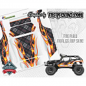 FreqesKinz Fire Plaid Design Body Wrap Decal Set for the Axial SCX10 G6 Jeep  FRQ15006