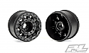 "Pro-Line Racing 1/10 F-11 2.8"" Traxxas Beadlock Wheels, Blk/Stamp 4x4 PRO275503"