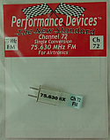 Airtronics 75Mhz FM Receiver Crystal - Channel 72 75.630Mhz (Single Conversion)