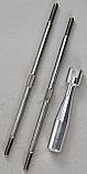 Traxxas 102mm Rear Titanium Turnbuckles (2)/T-Maxx  TRA2339X