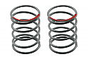 Axial Racing Shock Springs 12.5x20mm 3.6lbs/in Super Soft Red (2)  AXIAX30200