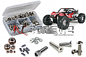 Axial Yeti XL 4WD RTR Stainless Steel Screw Set by RC Screwz  RCZAXI017