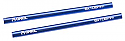 Axial AX-10/AX10 Scorpion Blue  6x106mm Threaded Aluminum Pipe (2)