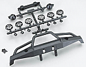 Axial Racing 1/10 Scale Front Plate Bumper Set/SCX10  AXIAX80039A