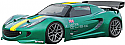 HPI Racing 2000 Lotus Elise 190mm Touring Car Body