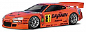 HPI Racing Nissan Silvia GT 200mm 1/10 Clear Touring Car Body HPI7479