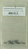 "Lunsford Racing 1 1/4"" Punisher Series Titanium Turnbuckles (4pcs) LNS1163"