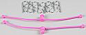 Du-Bro Body Klip Retainers Pink (2)  DUB2251