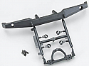 Axial Racing 1/10 Scale Rear Plate Bumper Set  AXIAX80039B