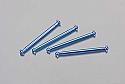 Dromida Aluminum Dogbone/Drive Shaft Blue (4)/SC/MT/BX  DIDC1108
