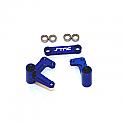 Traxxas Slash/Rustler/Stampede Blue Alloy Steering Bellcranks w/Bearings