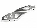 Hot Bodies Lightning Stadium 10 CNC Aluminum Front Anti-Bending Plate Set