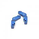 Traxxas Stampede VXL/Rustler VXL Blue Alloy 1 Deg. Toe-In Rear Hub Carriers