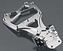 HPI Racing Blitz Silver Machined Front Bulkhead Chassis Brace Set
