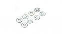 DU-BRO 3mm Flat Washers (8)  DUB2109