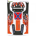 FreqesKinz General Lee Design Body Decal Set for Axial Deadbolt Kit  FRQ13008