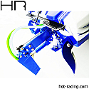 Hot Racing Dual Pickup Rudder/Traxxas Spartan Boat  HRASPN48DR06
