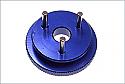 Kyosho 3-Shoe 34mm Blue Anodized Flywheel  KYOIFW110