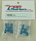 Traxxas LaTrax 1/18th Scale Rally Car Blue Alloy Front/Rear Suspension Arms (2pcs) GPRLTX055-B