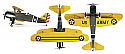 "Great Planes Curtiss P-6E Hawk EP Radio Controlled Biplane ARF (43"" Wingspan) GPMA1164"