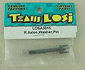 Team Losi XXX-NT Rear Axle/Washer/Pin