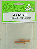 Axial AX-10/AX10 Scorpion Orange 7x30mm Post