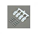 "DU-BRO 5/32"" Nylon Landing Gear Straps (4)  DUB239"