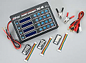 Hitec X4 DC Multi Battery Charger  LiPo/NiMH/PB 4 Batteries at once!