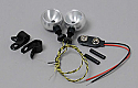 RAM Products 1/10th Scale Tamiya Roll Bar Lights (2)/M Pumpkin/Blackfoot  RAM28