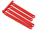 RPM 1/10 Scale Heavy Duty Camber Links (4), Red/2WD Stampede/Rustler  RPM81269
