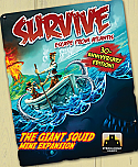 Survive! Escape From Atlantis - The Giant Squid Mini expansion PSISG-9001A