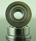 "1/8 x 5/16 x 9/64"" FLANGED Metal Shielded Ceramic Bearing  FR2-5CZZ"