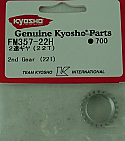 Kyosho 1/10th Scale 22T 2nd Gear/V-One S/R/RR  KYOFM357-22H