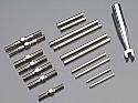 Lunsford 1/8th Scale Titanium Turnbuckle/Hinge Pin Set/AE RC 8.2/8.2E  LNS4523