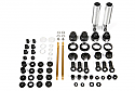 Axial Racing 1/10 Icon 93-137mm Aluminum Shock Set/Yeti  AXIAX31173