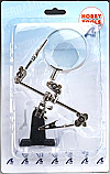 Helping Hands Hobby Tool w/2 Arms & Magnifier LAT27025