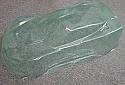 Team C 1/8th Scale GT2 Chevrolet Corvette Body  w/Wing/Light buckets TCET08839