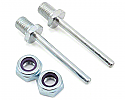 "DU-BRO 1/8""x1.25"" Axle Shafts (2)  DUB246"