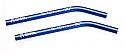 Axial Scorpion Blue Aluminum Threaded Pipe 6x101mm 30 Degree (2pcs.)
